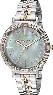 Michael Kors Cinthia Women's Grey Dial Stainless Steel Band Watch - MK3642