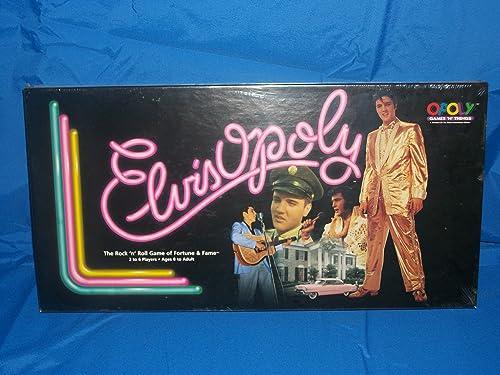 en promociones de estadios Elvisopoly Rock 'N' 'N' 'N' Roll  muy popular