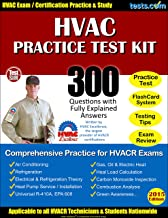 HVAC Practice Test Kit: 300 Questions with Fully Explained Answers, Comprehensive Practice for HVACR Exams
