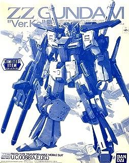 Bandai 1/100 MG MSZ - 010 Double Zeta Gundam Ver. Ka Clear Color Event Limited
