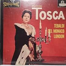 Puccini: Tosca / Tebaldi, Del Monaco, London