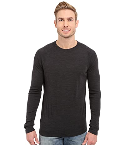 Smartwool NTS Mid 250 Crew Top (Charcoal Heather) Men