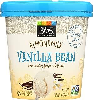 365 Everyday Value, Almondmilk Vanilla Bean Non-Dairy Dessert, 1 pint, (Frozen)