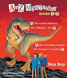 A to Z Mysteries: Books S-V: The School Skeleton; The Talking T. Rex; The Unwilling Umpire; The Vampire's Vacation