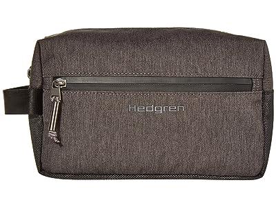 Hedgren Axel Toiletry Bag (Dark Iron) Handbags