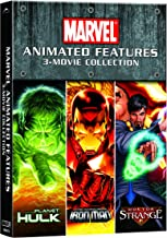 Planet Hulk / Dr. Strange / The Invincible Iron Man 3-Movie Collection