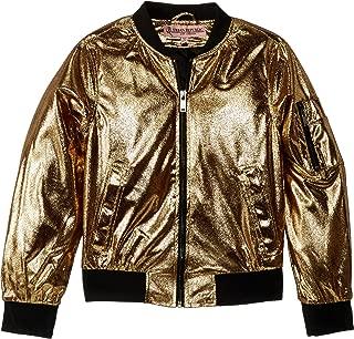 Best girls metallic bomber jacket Reviews