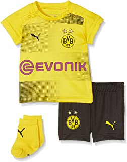 PUMA Unisex Kinder BVB Home Babykit with Socks with Sponsor Logo with Packaging Fußball T-Shirt