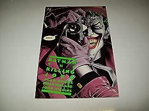 BATMAN THE KILLING JOKE DC COMIC BOOK 1988 1st PRINTING