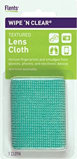 Wipe'N Clear Lens Cleaning Cloth by Flents, Remove Fingerprints & Smudges from Gl, Phones, & Other Electronic Devices, Mac...