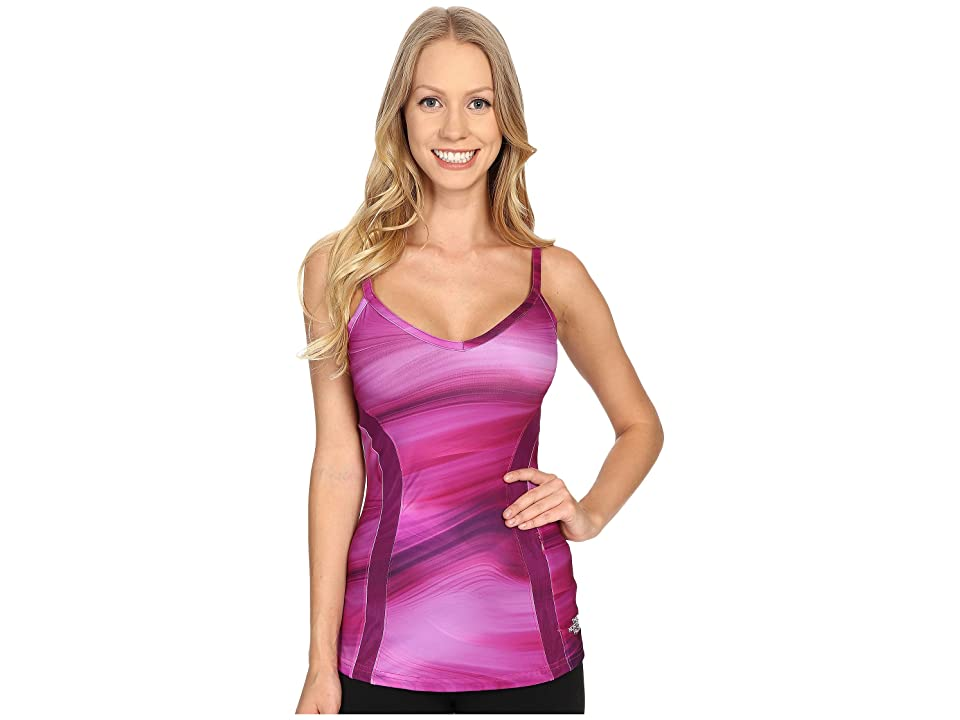 The North Face Rio Tank Top (Fuchsia Pink Water Swirl Print (Prior Season)) Women