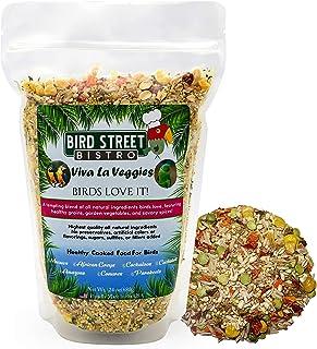 Bird Street Bistro Parrot Food Viva La Veggies   Cooks in 15 min.   All Natural & Organic Grains and Legumes, Healthy, Fru...