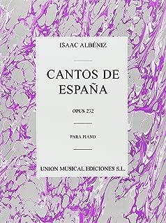 ALBENIZ CANTOS DE ESPANA OP232 PF PIANO by Isaac Albeniz (20