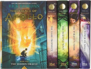Trials of Apollo, the 5-Book Hardcover Boxed Set