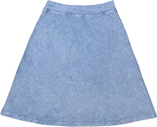 KIKI RIKI Girls Stonewash A-Line Skirt - 41459