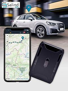 SALIND GPS Tracker Auto, Motorrad, Fahrzeuge und LKW´s mit Magnet, etwa 40 Tage Akkulaufzeit (bis zu 90 Tage im Standby Modus)