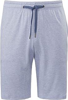 Calida Men's Plain Pyjama Bottoms -  Blue - Small