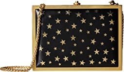 Darla Laser Cut Stars Box Clutch