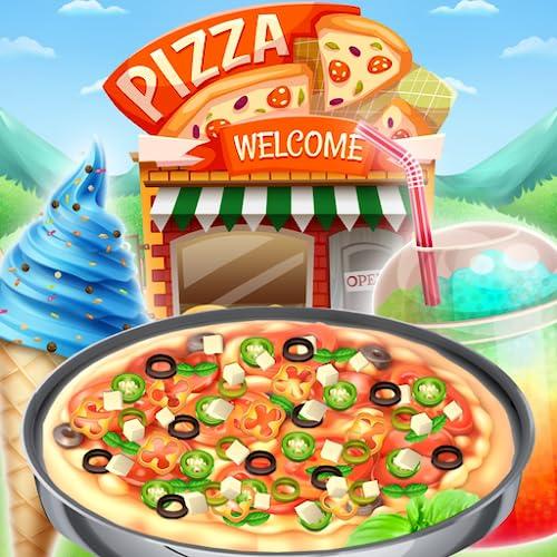 Unlimited Pizza Shop - Make your own deliciousUnlimited  pizza with this fun pizza game! FREE game - Yummy Pizza Shop