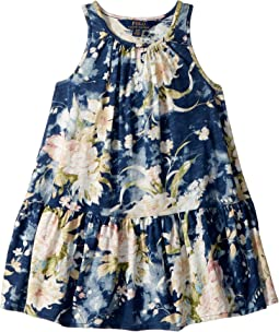 Polo Ralph Lauren Kids - Floral Cotton Jersey Dress (Toddler)