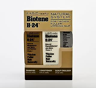 Mill Creek Biotin H-24 Tri-Pack Shampoo, Conditioner and Scalp Emulsion