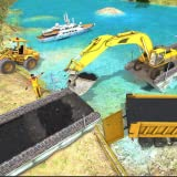 Real City Road River Bridge Construction Game