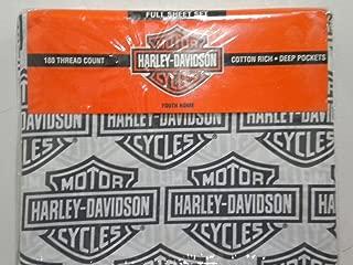 Harley-Davidson Full Sheet Set Flame Rider Fireball