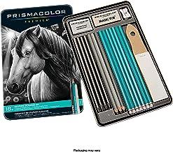 Prismacolor 24261 GRAPHITE Drawing 18-Piece Set