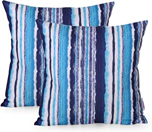 Christopher Knight Home 311816 Truda Outdoor Throw Pillow (Set of 2), Blue