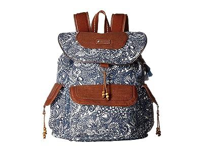 Sakroots Sakroots Artist Circle Flap Backpack (Navy Spirit Desert) Backpack Bags