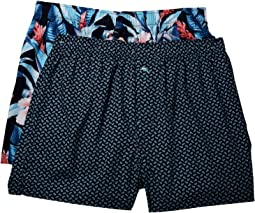 Island Washed Cotton Woven Boxer Set
