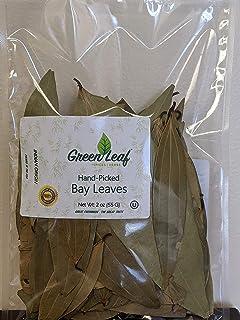 GreenLeaf Bay Leaves Whole / Hand-Picked / Indian Origin / 2oz Bag