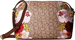 Khaki/Brown/Luggage Floral