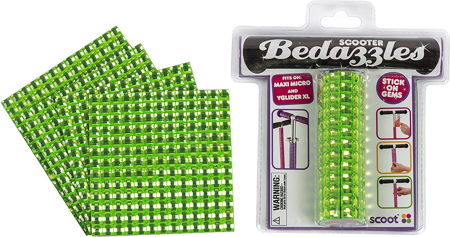 SCOOT Bedazzles for Kick Scooter Adjustable Stem