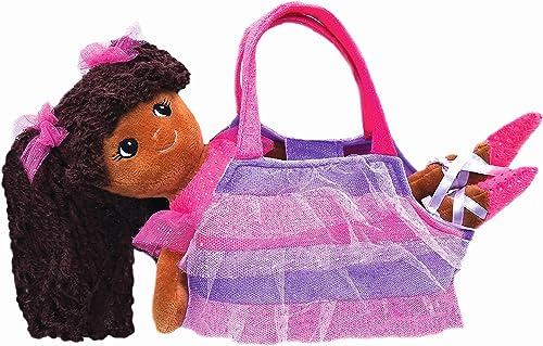 perfecto GirlznDollz Elana Sparkle bailarina muñeca con bolso, Color Color Color morado marrón  opciones a bajo precio