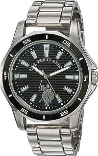 Men's Analog-Quartz Watch with Alloy Strap, Silver, 21.5...