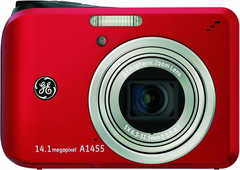 Ge General Electric A1455 Digitalkamera 2 7 Zoll Rot Kamera
