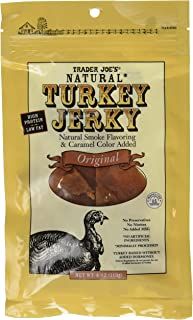 Trader Joe's Natural Turkey Jerky - Original (2 - 4 Ounce Bags)