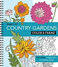Download Book Color & Frame Coloring Book - Country Gardens PDF