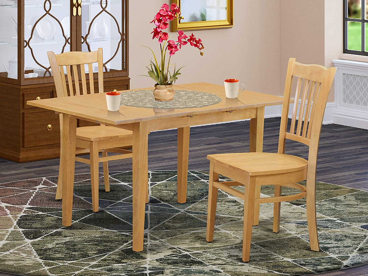 3 Max 55% OFF PC Max 44% OFF Dining room set - and Chairs Table Kitchen 2 Dinette