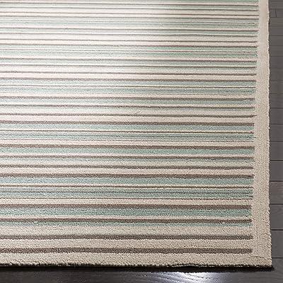 Safavieh Patio Collection PTR223A Handmade Wool Area Rug, 5' x 7', Multi