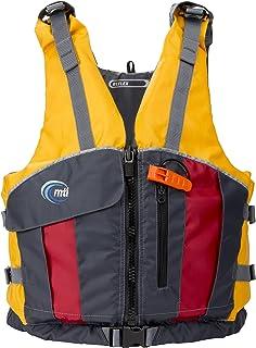 MTI Adventurewear Reflex PFD Life Jacket, X-Small/Small, Mango/Dark Gray