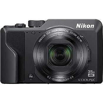 Nikon デジタルカメラ COOLPIX A1000 BK 光学35倍 ISO6400 アイセンサー付EVF クールピクス ブラック A1000BK