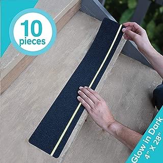 LifeGrip Anti Slip Traction Treads with Glow in Dark Stripe (10-Pack), 4