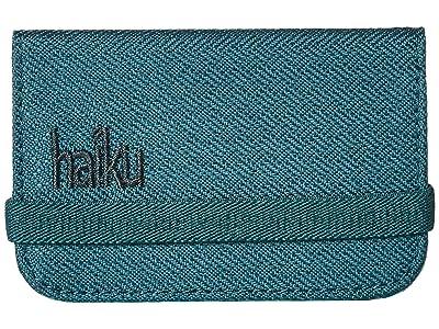 Haiku RFID Mini Wallet (Juniper) Wallet Handbags