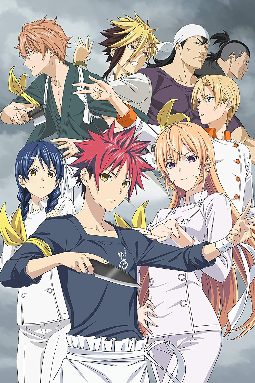 UpdateClassic Food Wars!: Shokugeki no Soma Anime - Poster 24 x 36 inch Poster Print Frameless Art Gift 60 x 91 cm Matte Paper Surface