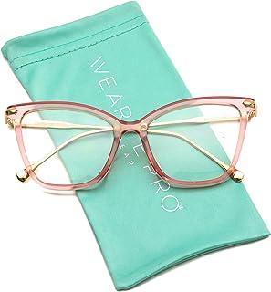 WearMe Pro - New Elegant Oversized Clear Cat Eye...