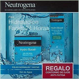comprar comparacion Neutrogena Hydro Boost Pack Hidratación Facial 24 horas, Gel de Agua Hydro Boost 50ml y Contorno de Ojos Anti,Fatiga 15ml