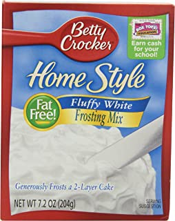 betty crocker frosting flavor packets