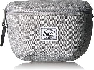 Herschel Fourteen Unisex WaistBag, Light Grey Crosshatch